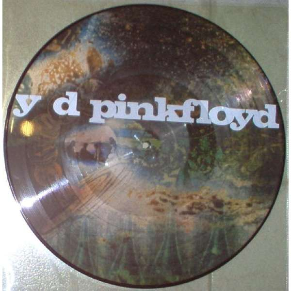 Pink Floyd A Saucerful Of Secrets (UK Ltd reissue 7-trk LP Picture Disc)