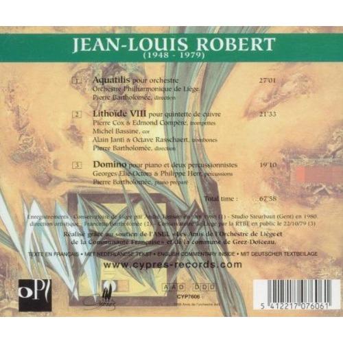 Robert, Jean-Louis (1948-1979) Aquatilis, Lithoïde VIII, Domino / Bartholomee, Liege P.O.