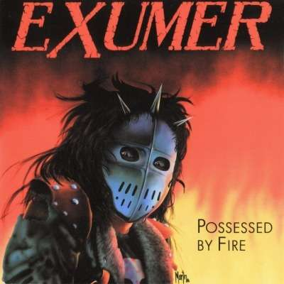 EXUMER Possessed by Fire. Black Vinyl