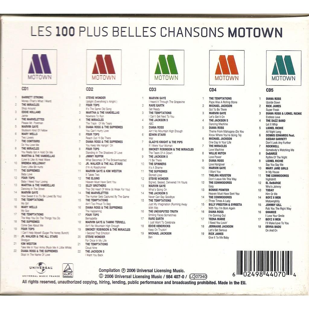Various - Motown Disco Classics Vol. 4