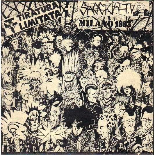 """TIRATURA LIMITATA / SHOCKIN T.V. 7"""" MILANO 1983 Split with TIRATURA LIMITATA / SHOCKIN T.V. 7"""""""