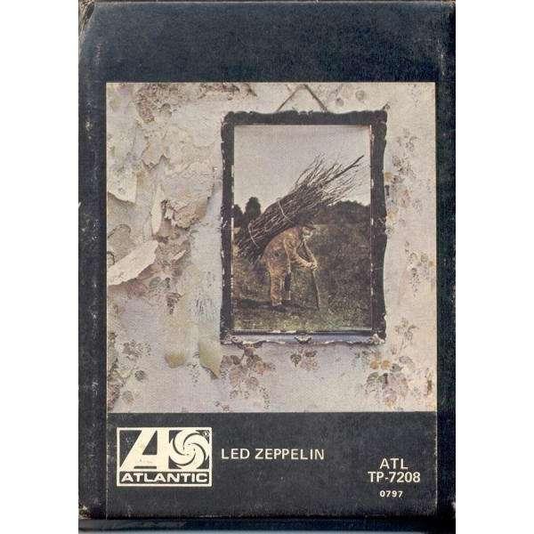 Led Zeppelin Led Zeppelin IV (USA 1971 8-trk Cartridge format album card slipcase ps)