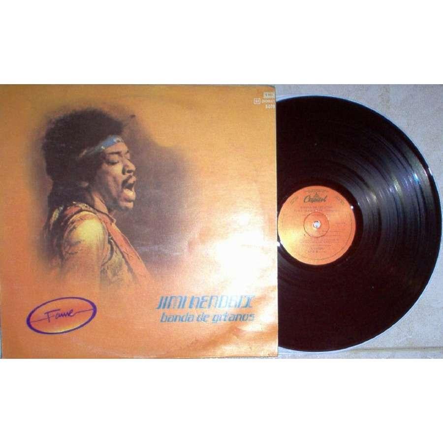 Jimi Hendrix Banda the Gitanos (Argentina 'Fame' issue 6-trk LP unique spanish titles ps)