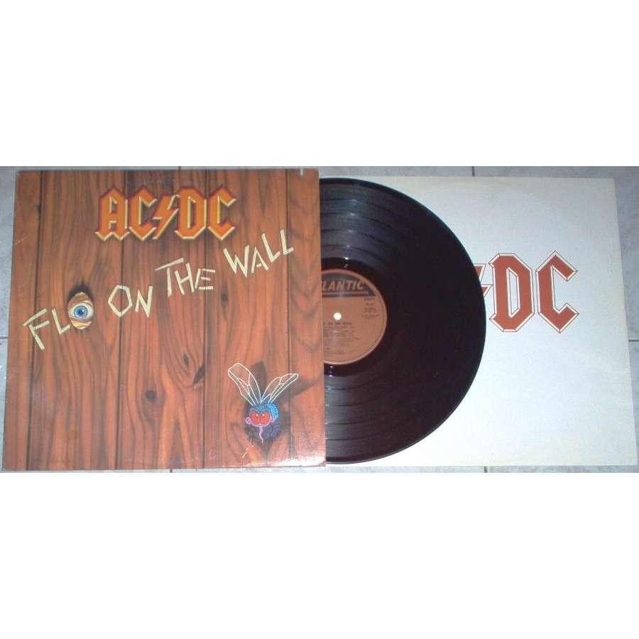 AC/DC Fly on the wall (USA 1985 10-trk LP full ps & inner slv)