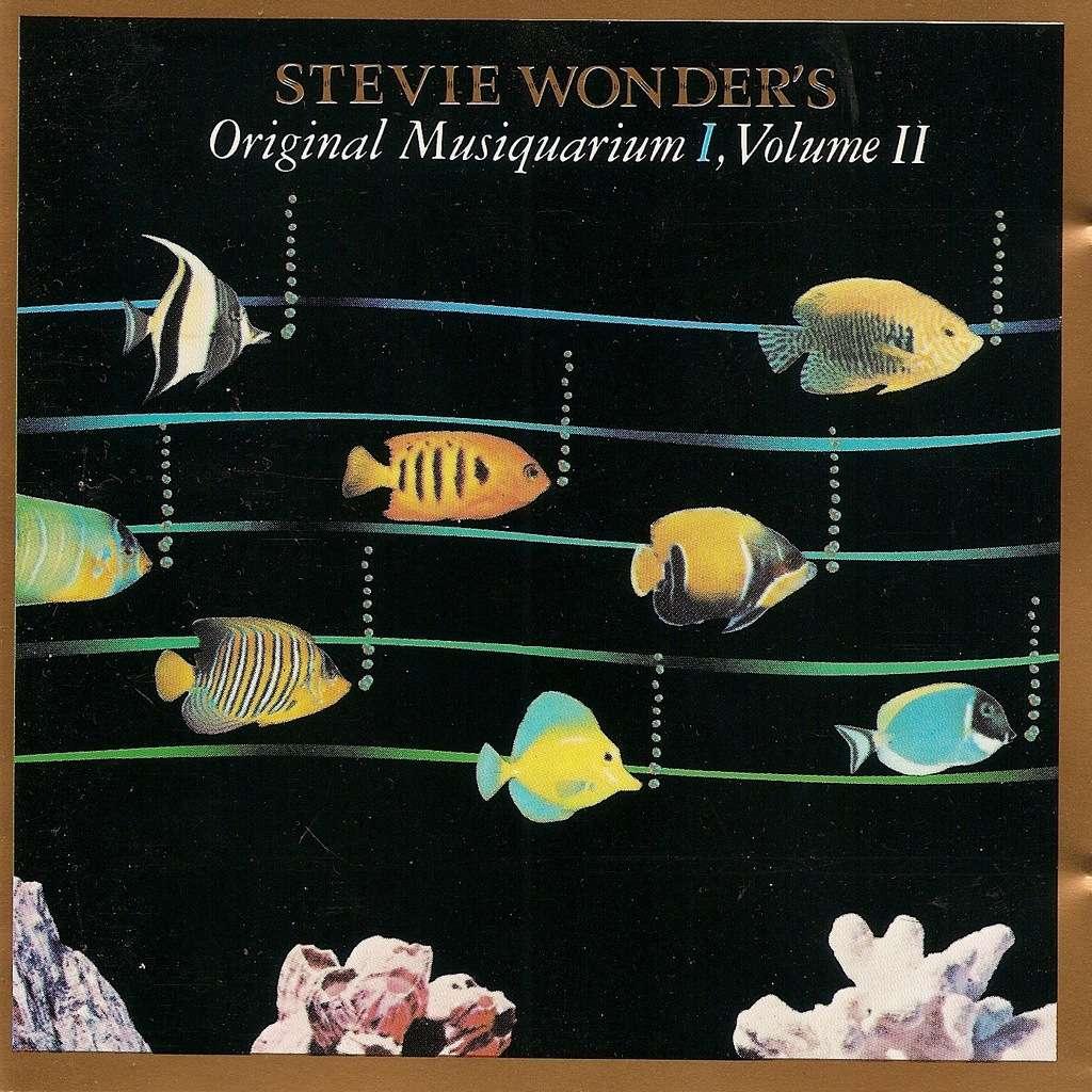 Original Musiquarium I Vol 2 By Stevie Wonder Cd With
