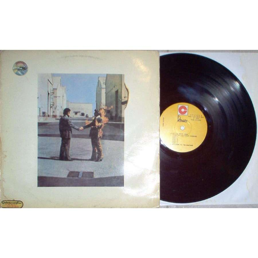 Pink Floyd Wish You Were Here (Turkish 1976 LP on Ronnex lbl slight different ps)