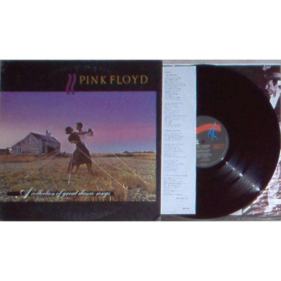 Pink Floyd A Collection Of Great Dance Songs (Hong Kong 1982 6-trk promo LP ps & inner slv & insert)