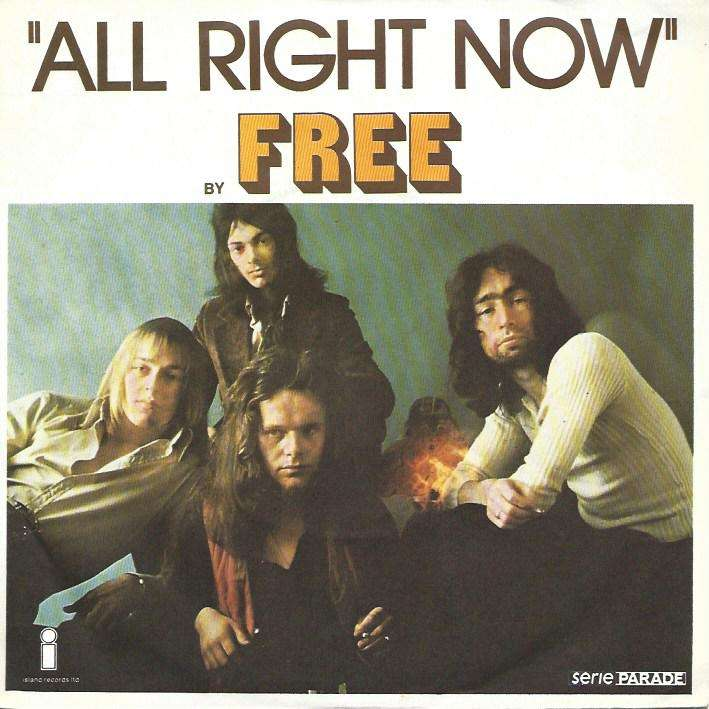 All Right Now Mouthful Of Grass 73 By Free Sp With