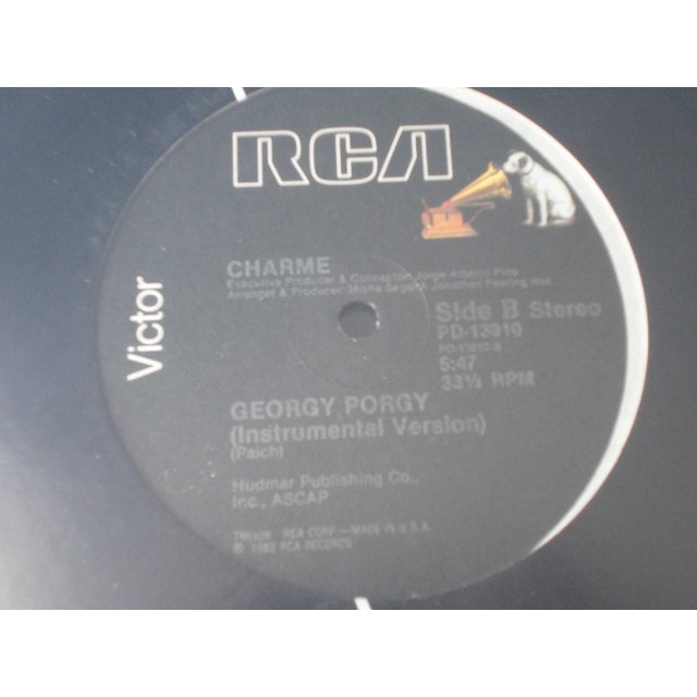 CHARME georgy porgy ( remixed version )
