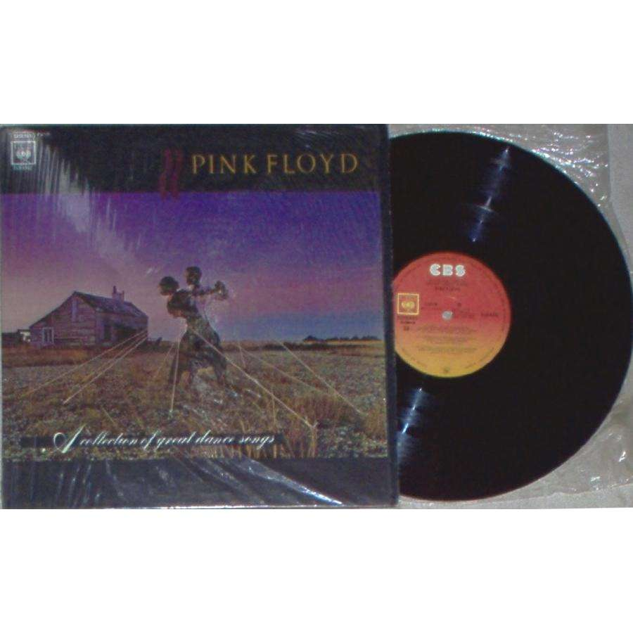 Pink Floyd A Collection Of Great Dance Songs (Mexico 1982 6-trk LP unique spanish titles ps)