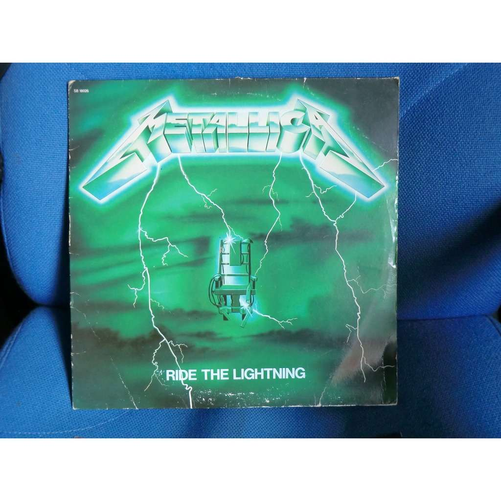 Ride the lightning (original french press - green cover ...