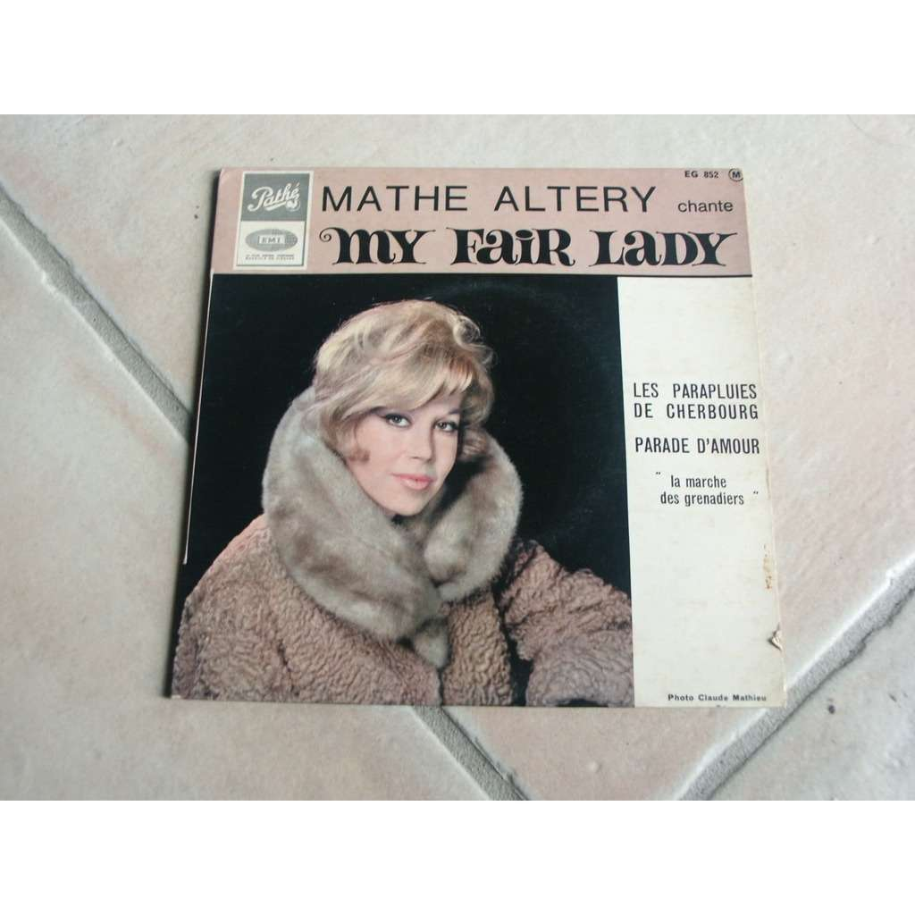 ALTERY MATHE J'AURAIS VOULU DANSER + 3 - LANGUETTE - CHANTE MY FAIR LADY