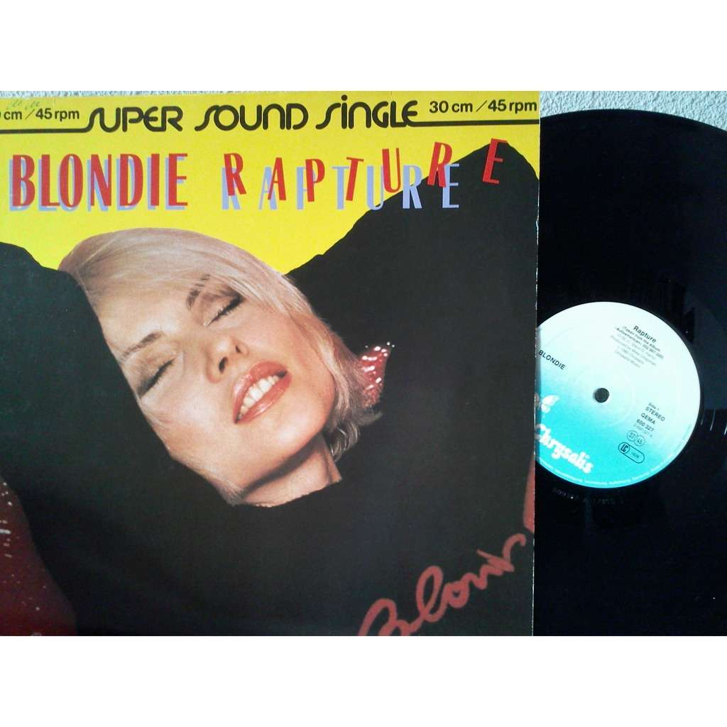 rapture live it up by blondie 12inch with fiphi ref 116588085. Black Bedroom Furniture Sets. Home Design Ideas