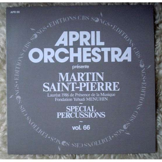 Martin Saint-Pierre Special Percussions : April orchestra vol.66