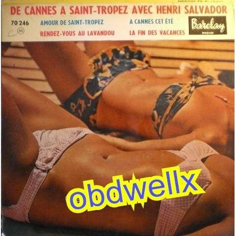 SALVADOR Henri De Cannes à Saint-Tropez