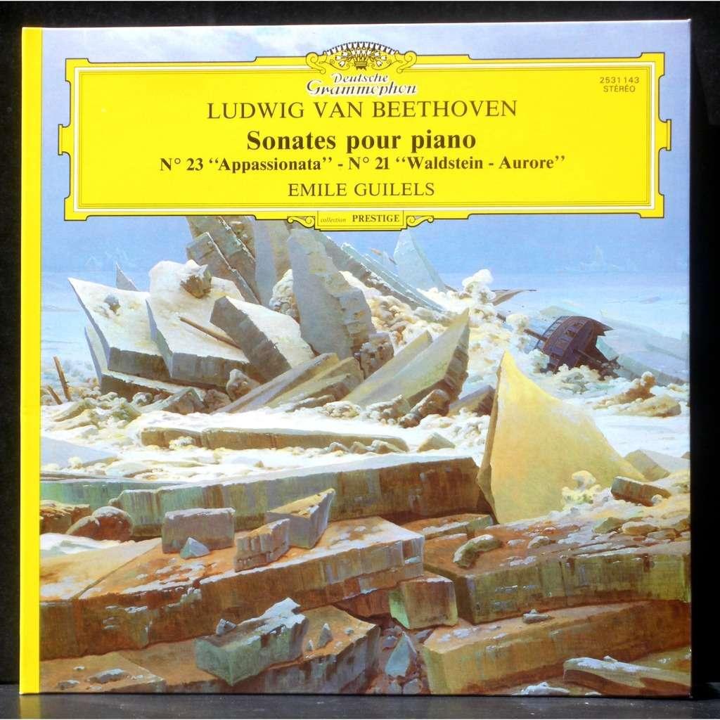 Beethoven Sonates 21 Amp 23 Emile Guilels Emil Gilels By
