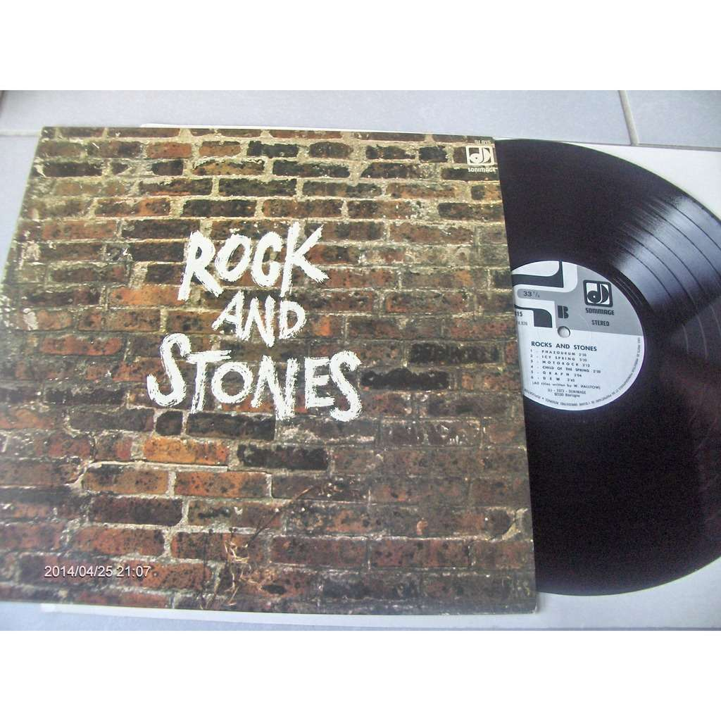 W.HALLTOW ROCK AND STONES