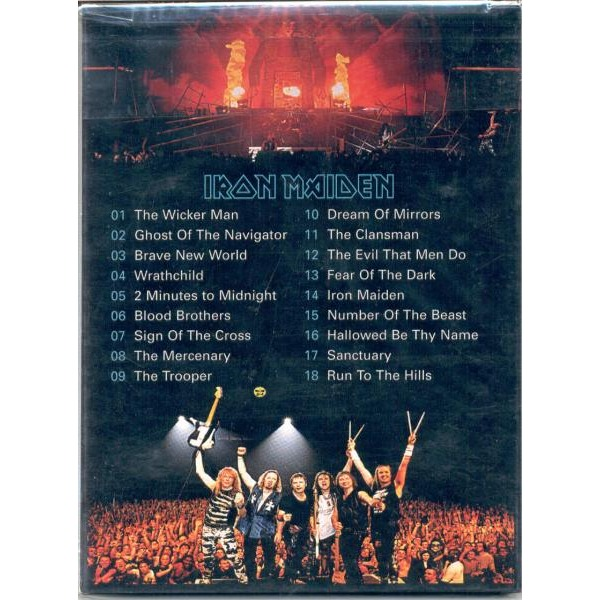 Iron maiden Brave New World Tour (Santiago Chile 14 Jan. 2001)