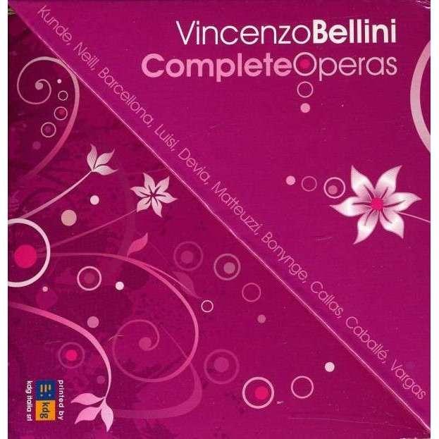 Bellini, Vincenzo Complete Operas / Licata, Viotti, Olmi, Teatro Massimo Bellini O., Teatro Massimo Palermo O., Et Al