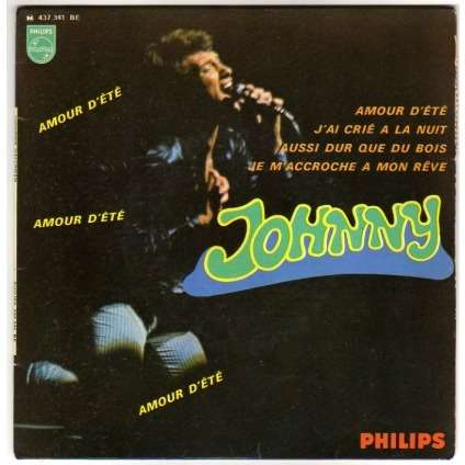 HALLYDAY JOHNNY AMOUR D'ETE + 3