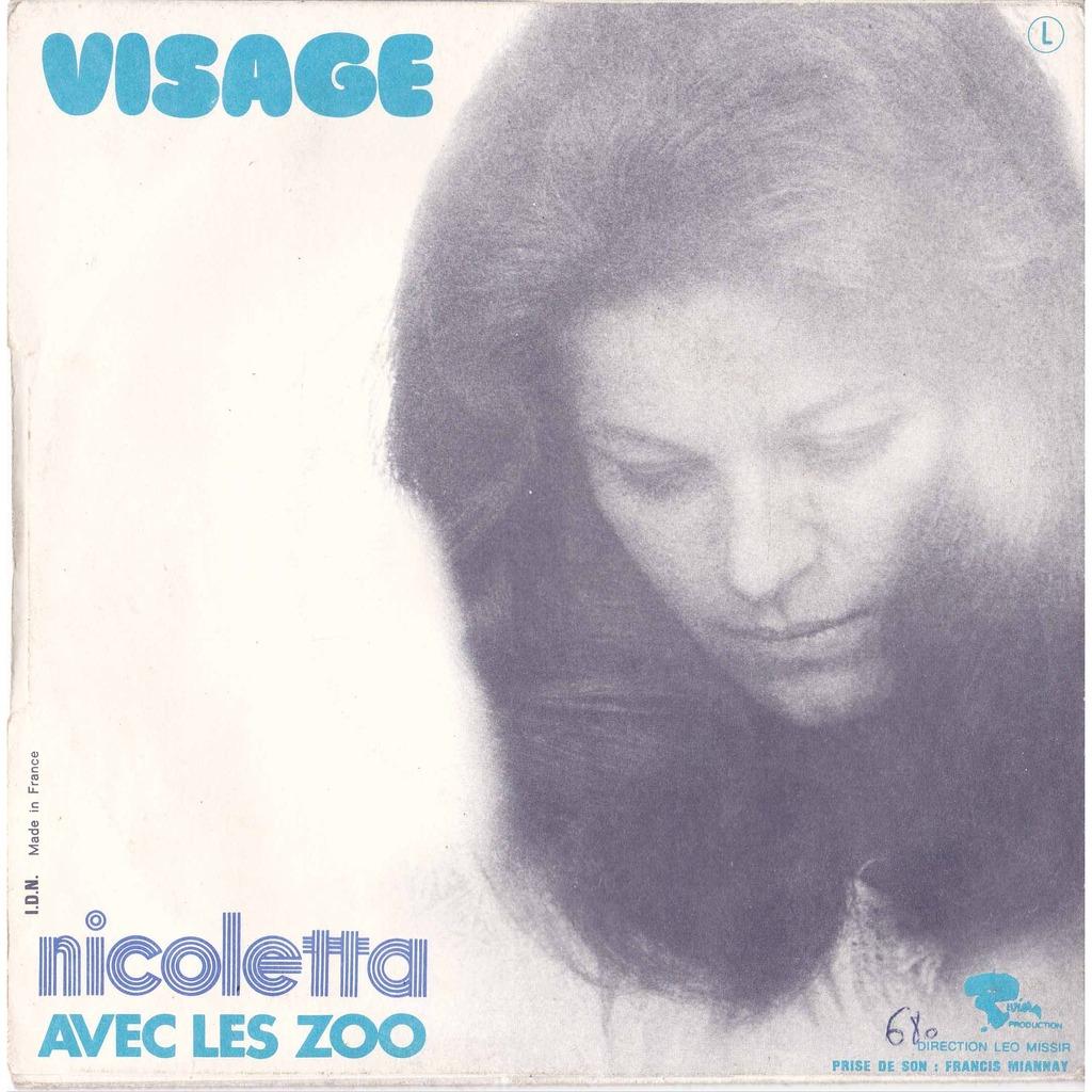 ... NICOLETTA MAMY BLUE ( mamie bleue ) / VISAGE ( avec les ZOO ); Video - 116234093-2