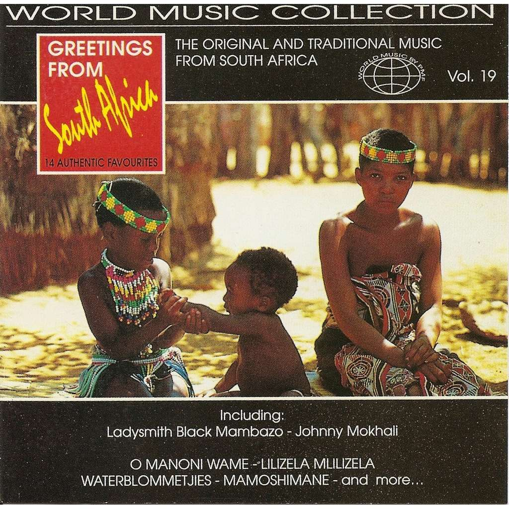 Greetings From South Africa Vol 19 By Various Artists Cd With