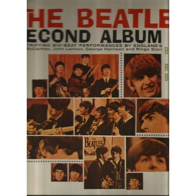 the beatles second album japan