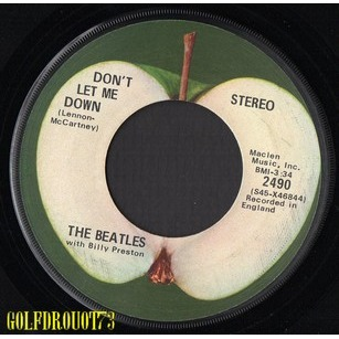 BEATLES (THE) . BILLY PRESTON GET BACK - DON'T LET ME DOWN