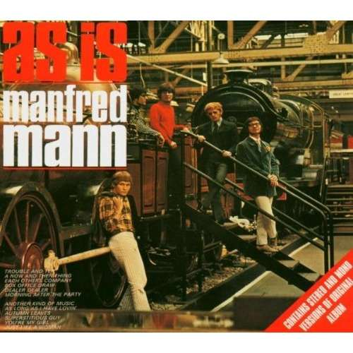 Manfred Mann As Is (24 tracks,stereo and mono versions)