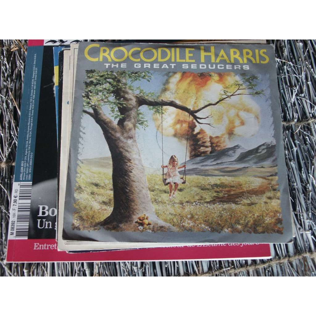 CROCODILE HARRIS ; THE GREAT SEDUCERS/ falling leave