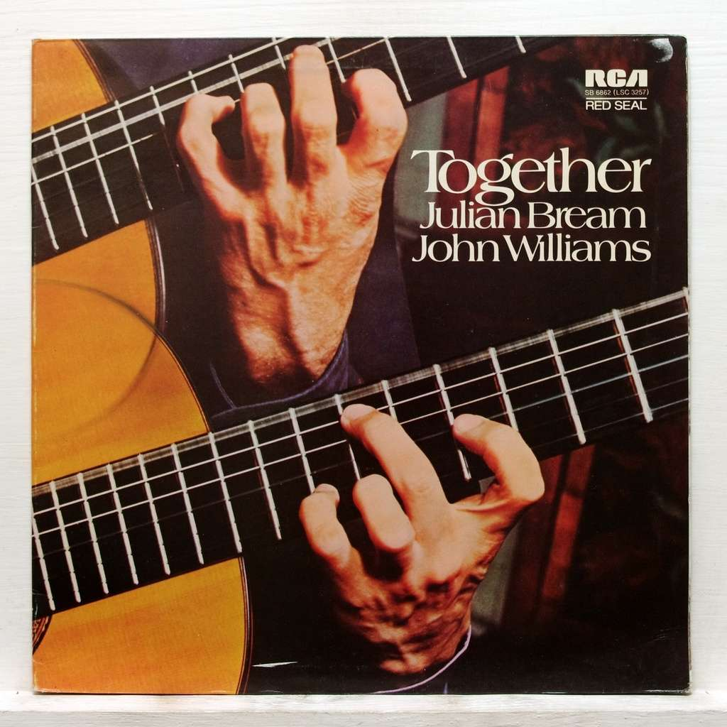 Together By Julian Bream Amp John Williams Lp Gatefold With