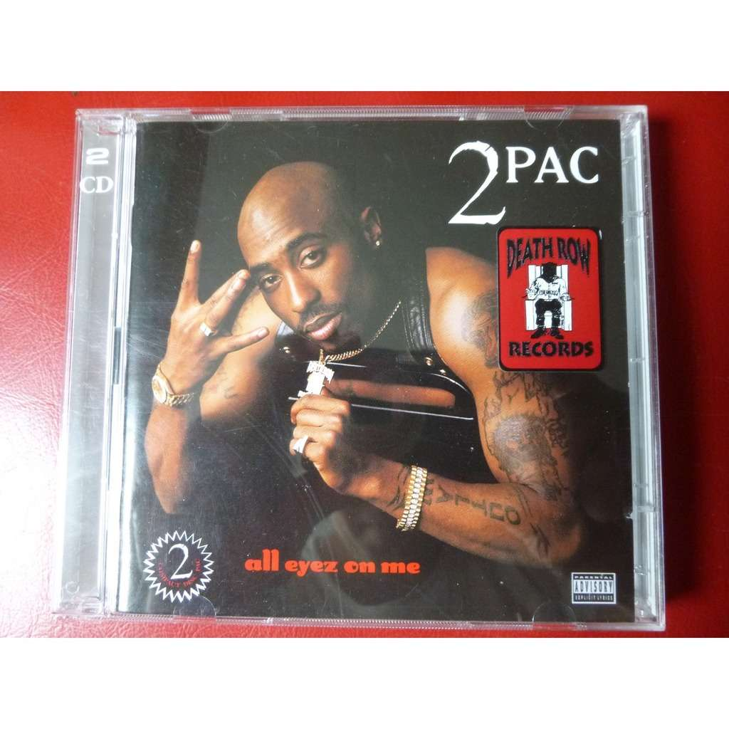 All Eyez On Me By 2pac Cd X 2 With Pointblank Ref 116962306
