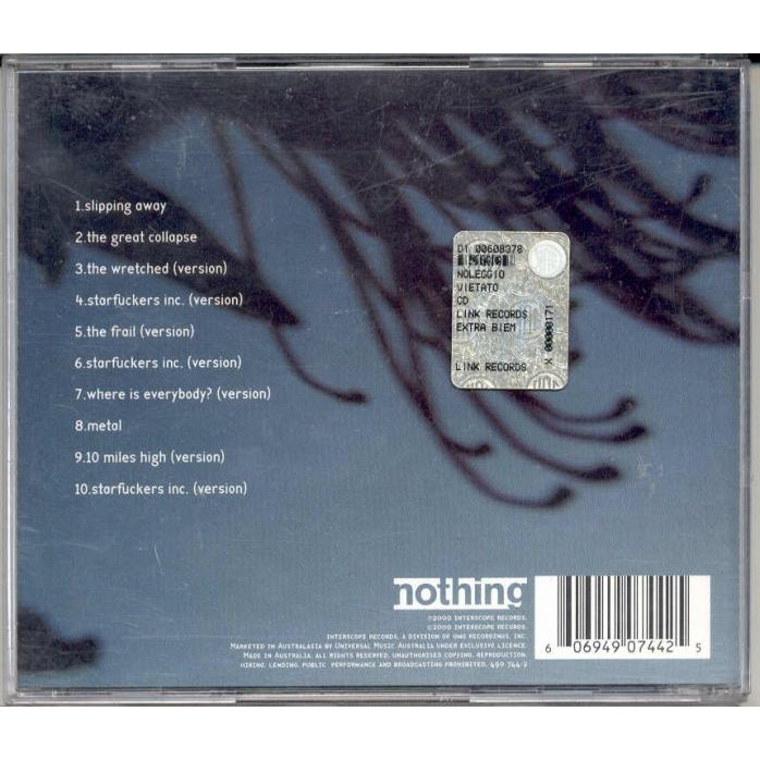 Things falling apart (australia 2000 ltd 10-trk cd stickered ps) by ...