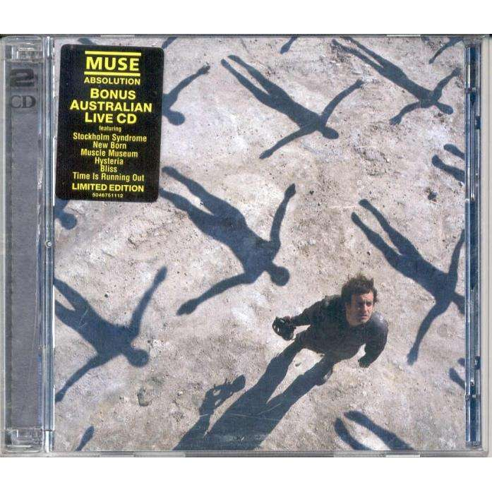 Muse Absolution (Australian 2003 Ltd CD & bonus 6-trk live CD stickered ps)