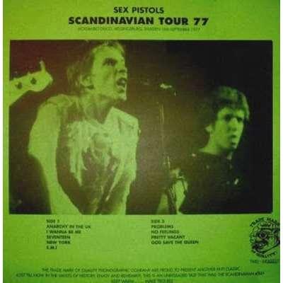 Sex Pistols Scandinavian Tour 77 (lp)