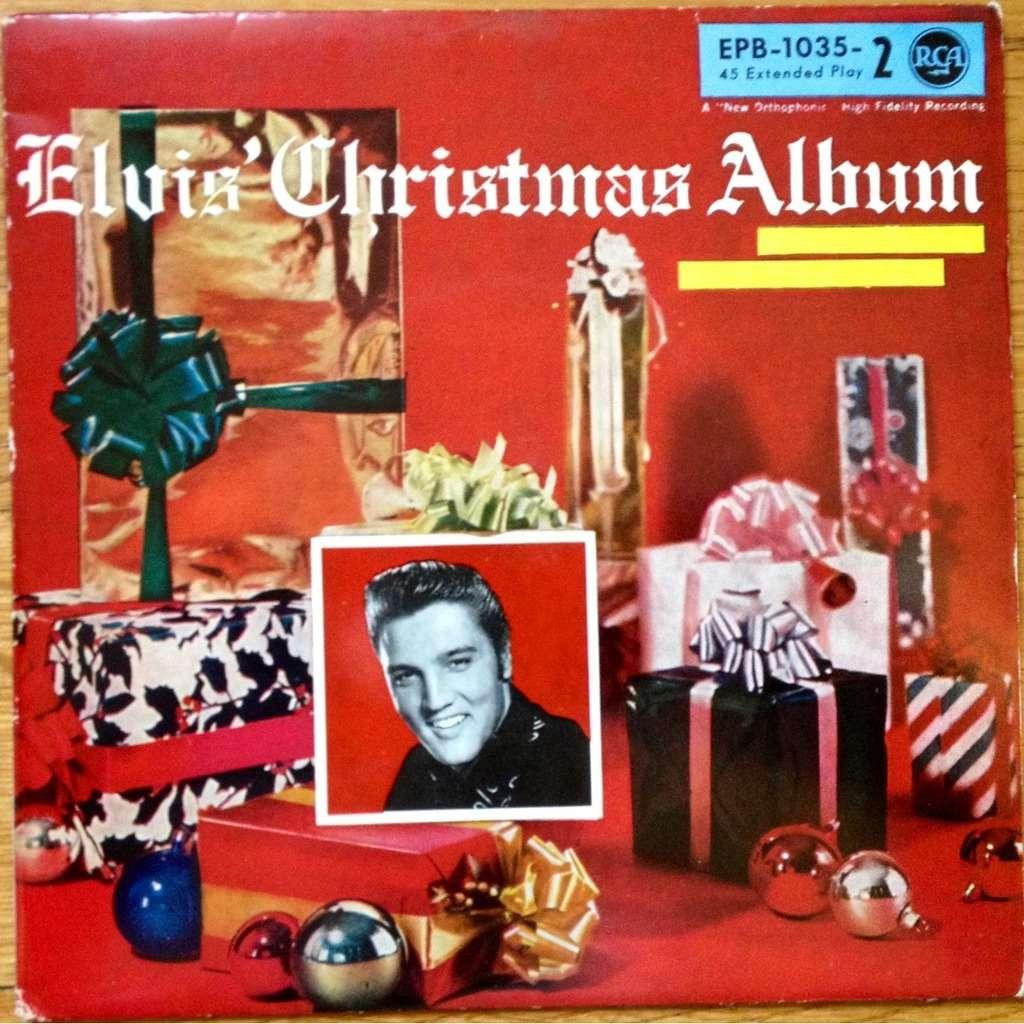Elvis Presley Elvis Christmas Album.Elvis Presley Elvis Christmas Album Vol 2 Epb 1035 2 Rare Ep Orig Top Copy