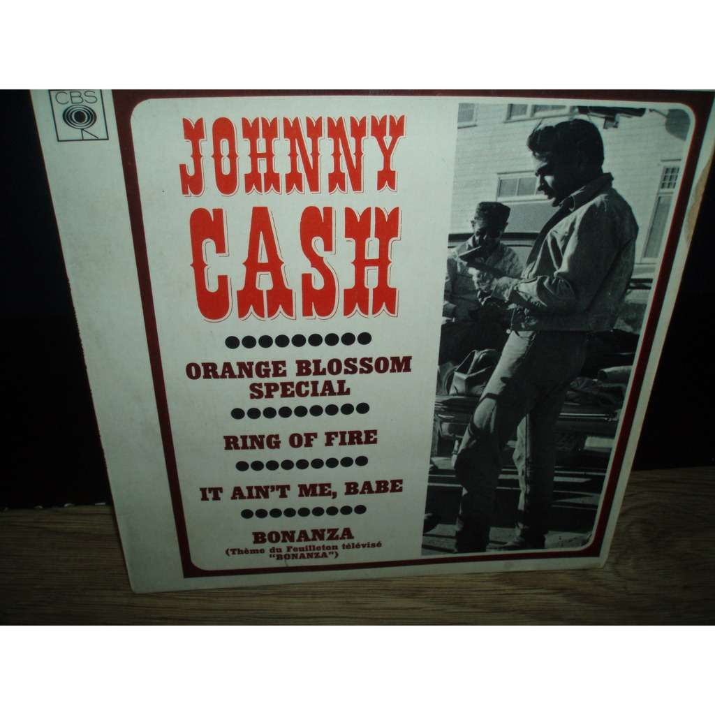 JOHNNY CASH ORANGE BLOSSOM SPECIAL +3