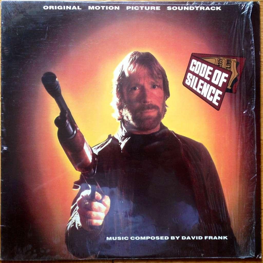 DAVID FRANK CODE OF SILENCE (RARE OST SOUNDTRACK FUNK SYNTH MINT COPY)