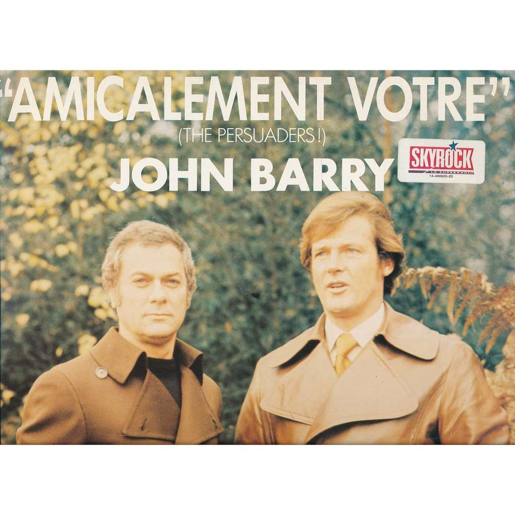 JOHN BARRY amicalement votre - ( the persuaders ! )