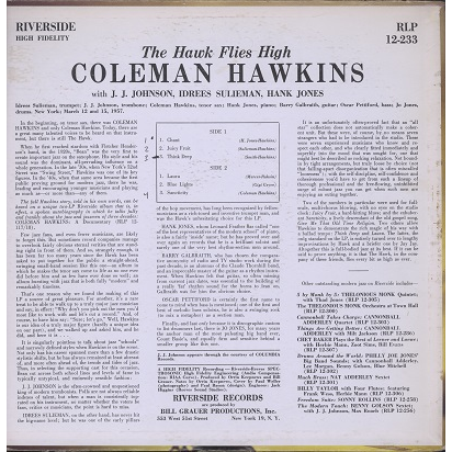 coleman hawkins the hawk flies high