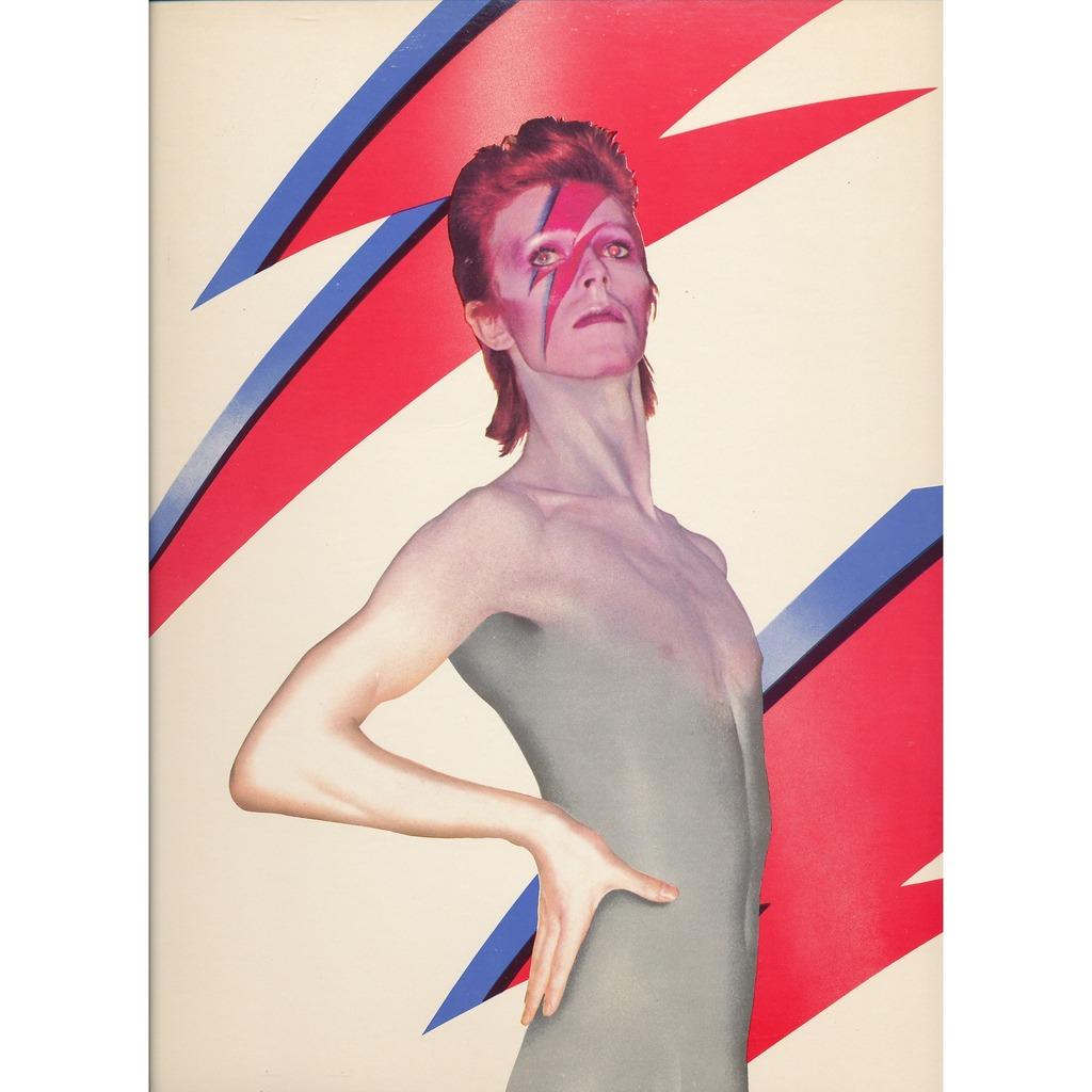 Aladdin Sane By David Bowie Lp Gatefold With Neil93 Ref