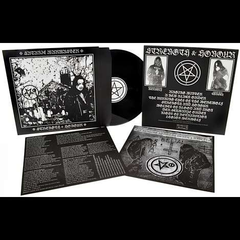 Satanic Warmaster Strength Amp Honour Lp For Sale On