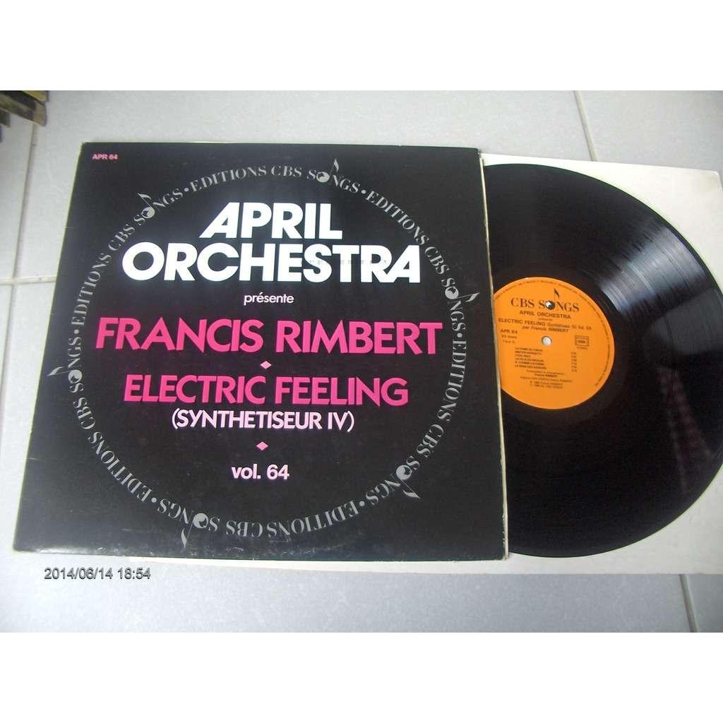 april orchestra-francis rimbert april orchestra vol 64 electric feeling (electronic sounds loops)