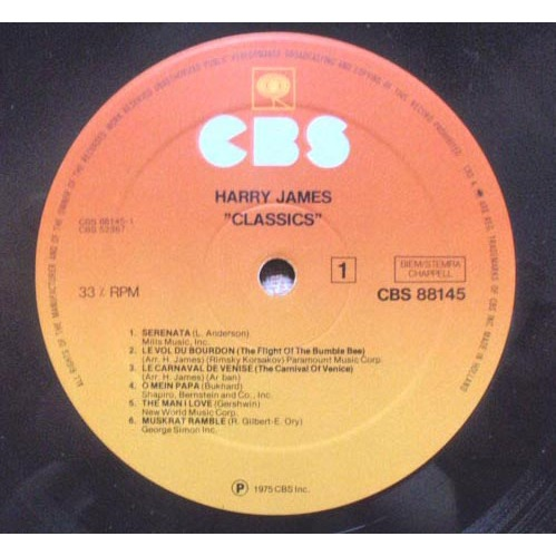 HARRY JAMES classics