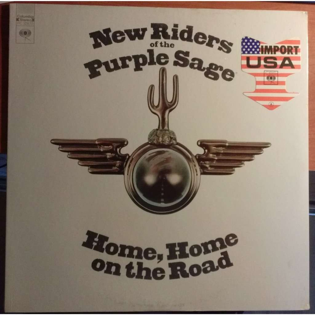 New Riders Of The Purple Sage home home on the road [vinyl] new riders of the purple sage -
