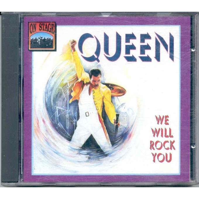 Close Queen We Will Rock You Euro 1992 Ltd Issue 14 Trk