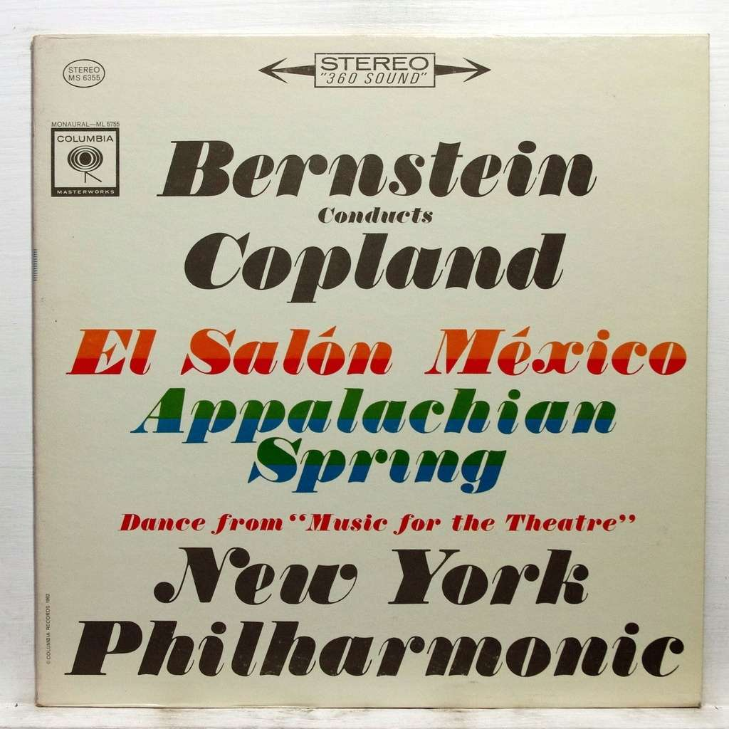 Aaron copland el salon mexico appalachian spring by for Aaron copland el salon mexico