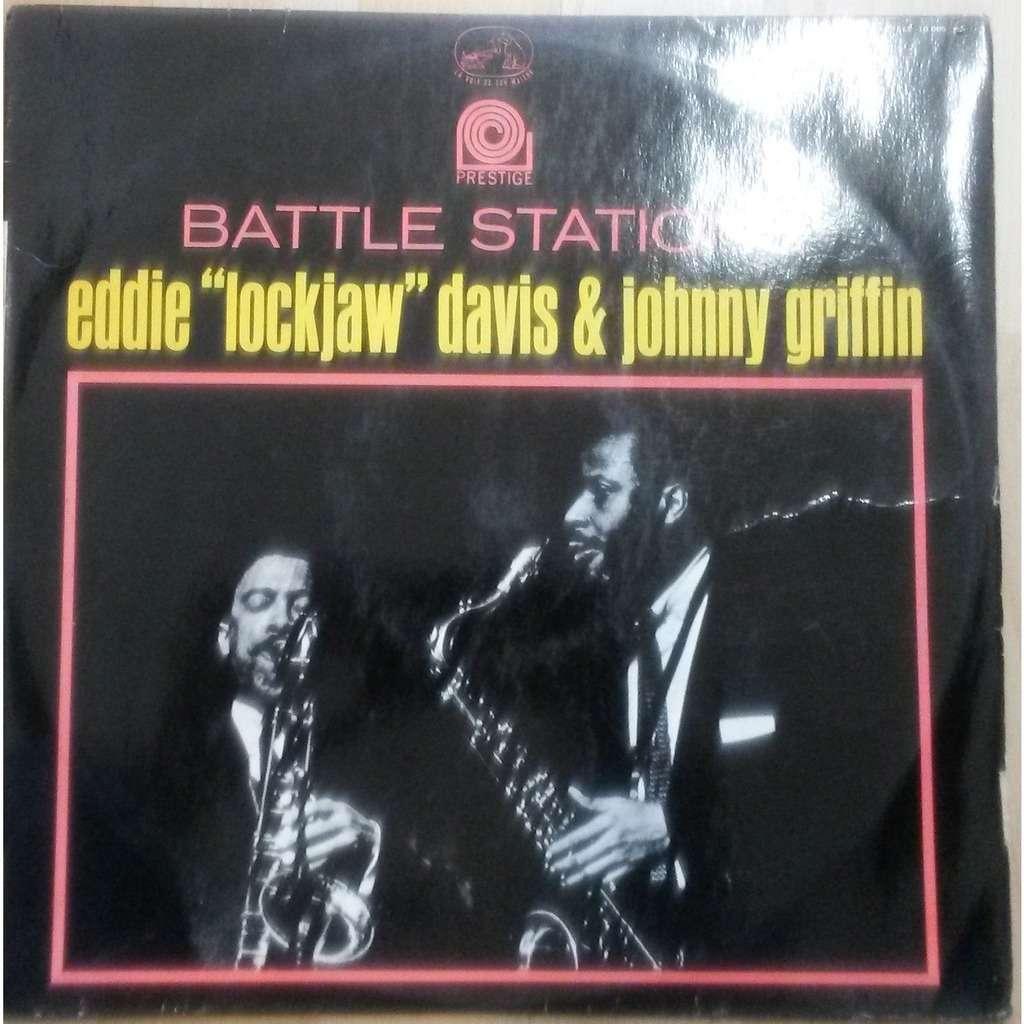 EDDIE LOCKJAW DAVIS & JOHNNY GRIFFIN battle stations