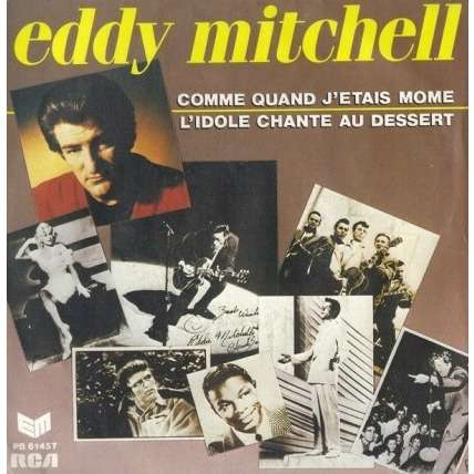 MITCHELL Eddy  Comme quand j'étais môme