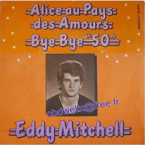 MITCHELL Eddy  Alice au pays des amours